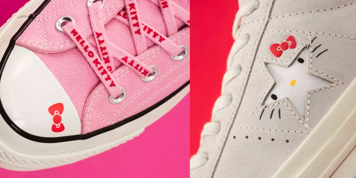 Converse x Hello Kitty collaboration is here just in time