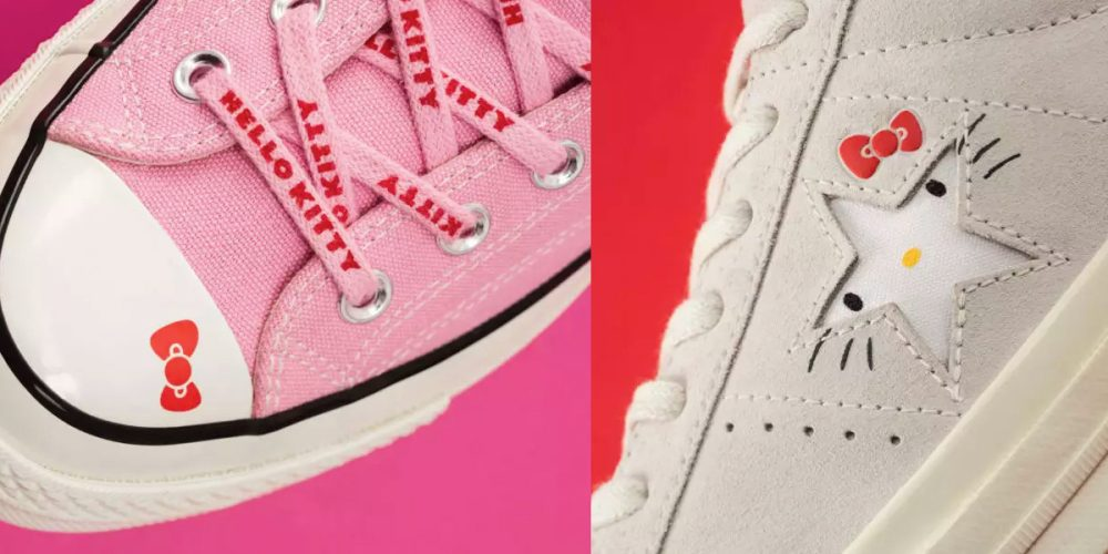 Converse x Hello Kitty collaboration is here just in time for back to school d9d20ee22