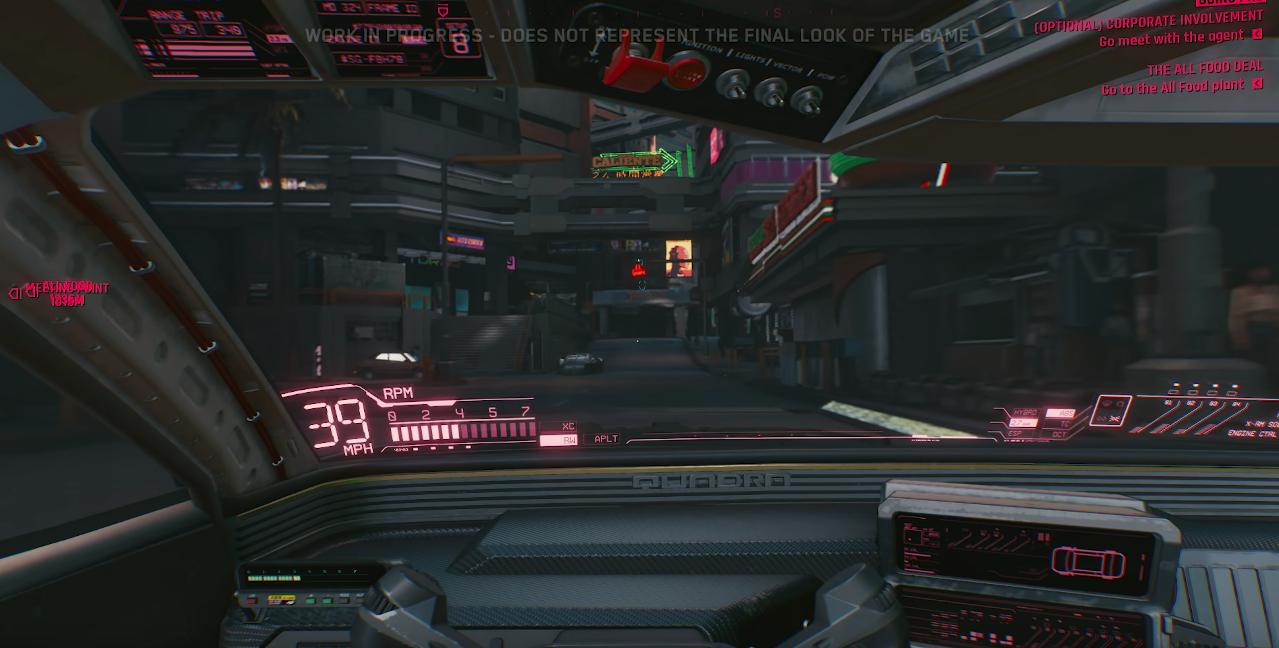 cd projekt releases impressive 48 min gameplay demo of cyberpunk