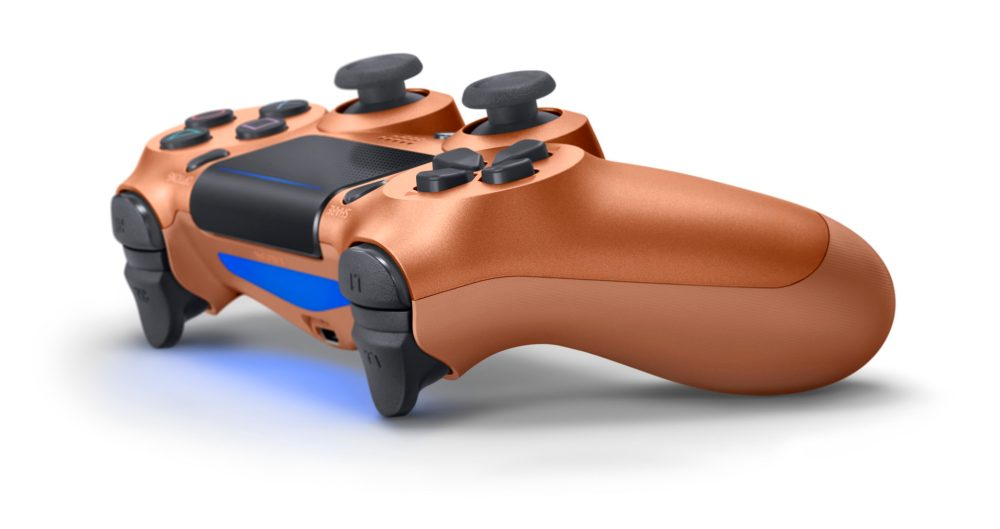 Sony unveils four new DualShock PS4 controllers: Metallic