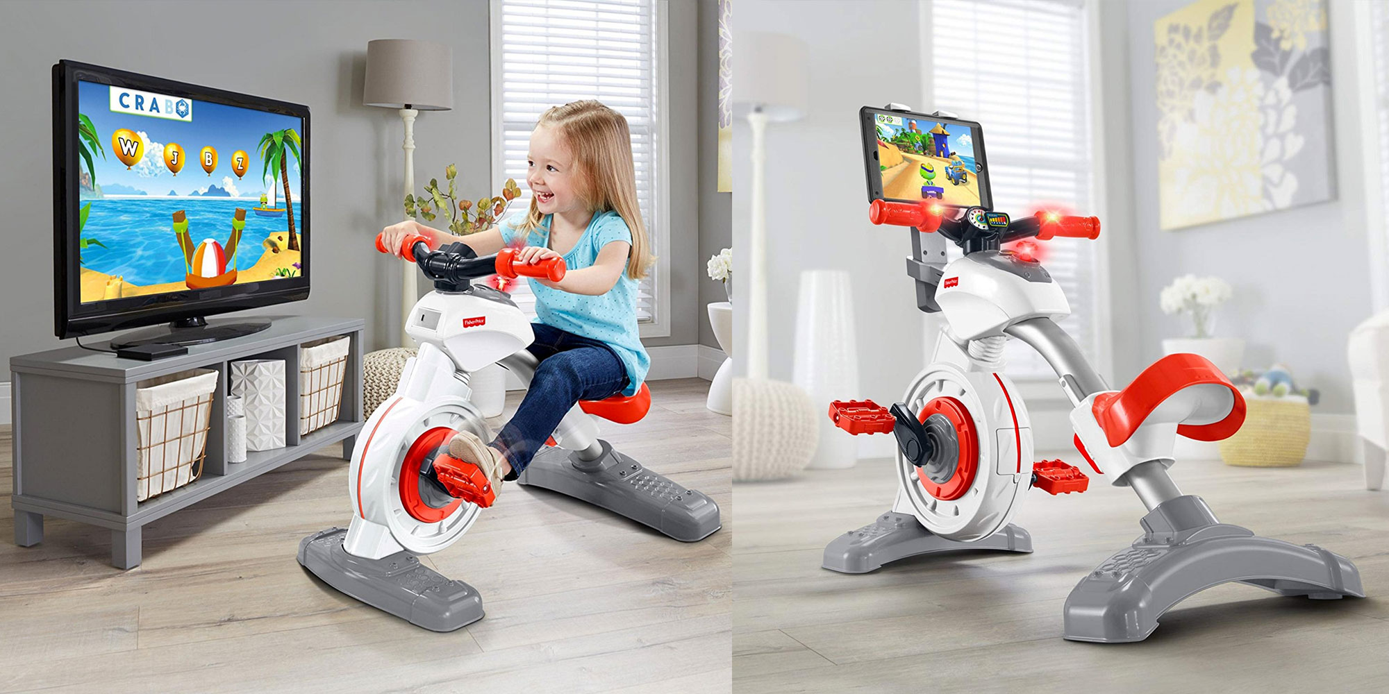 The Fisher-Price Smart Cycle is great for getting kids active: $86 (Reg. $100)
