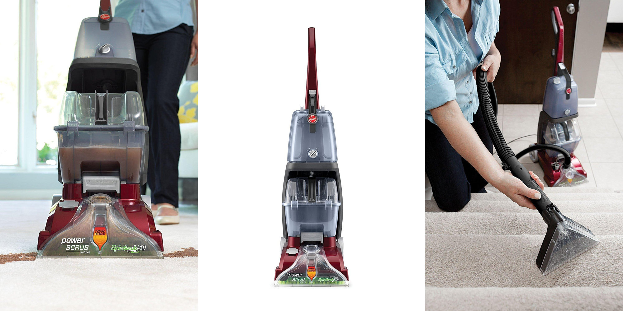 Keep Your Carpets Clean W Hoover S Power Scrub Deluxe For