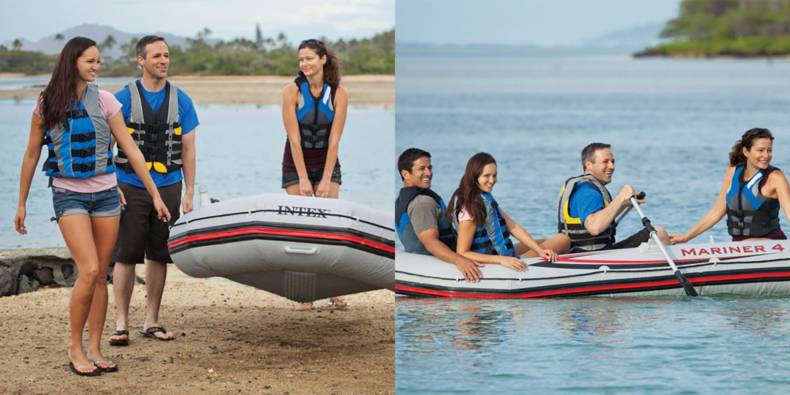It's not too late to hit the lake w/ Intex's Mariner 4