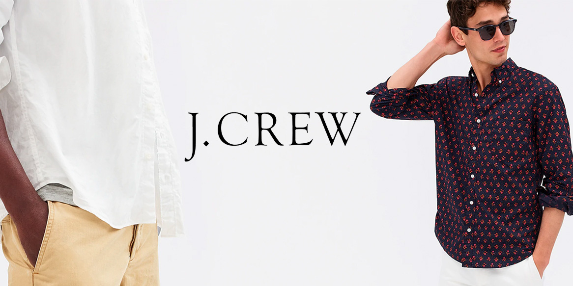 J.Crew Factory revamps your look with 50% off sitewide + 15% off your purchase