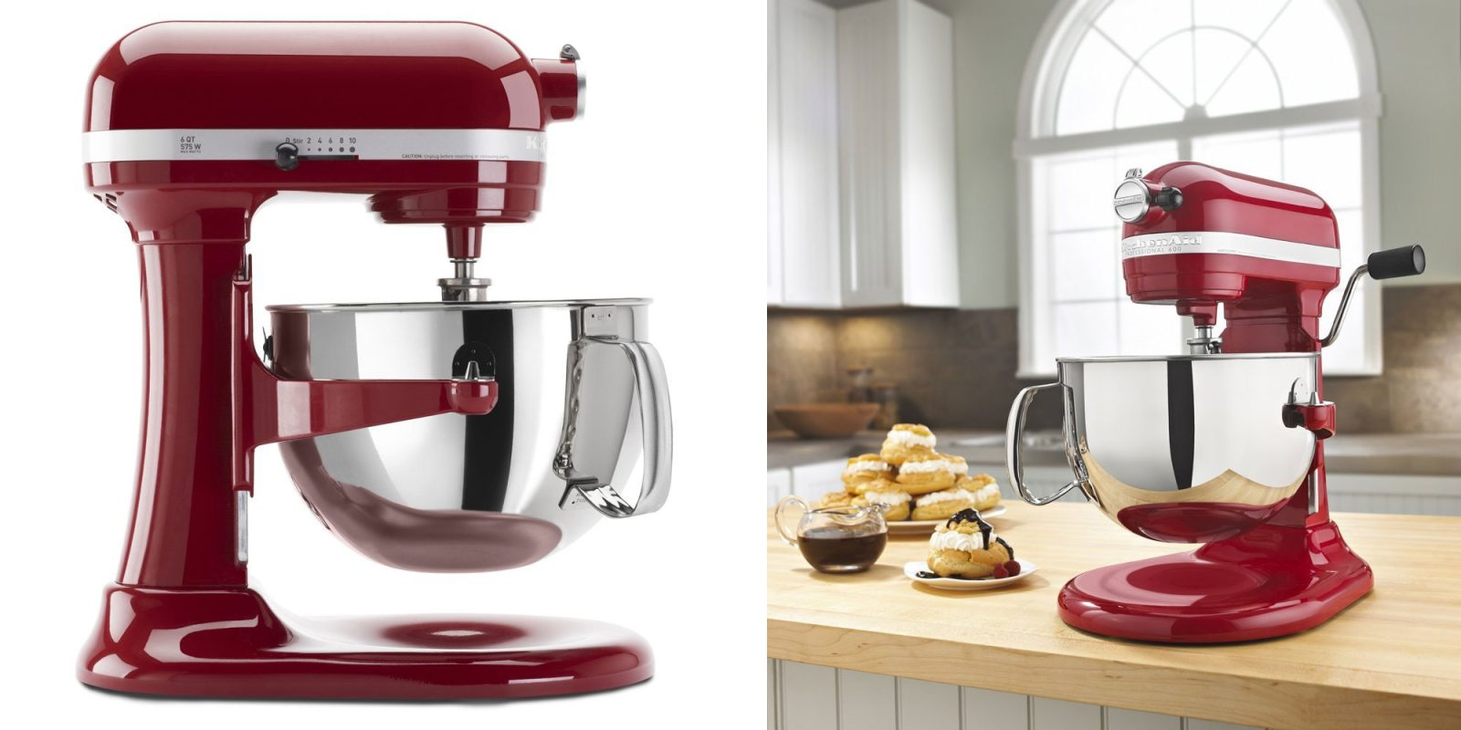 Best Deals On Kitchen Aid Red Mixer