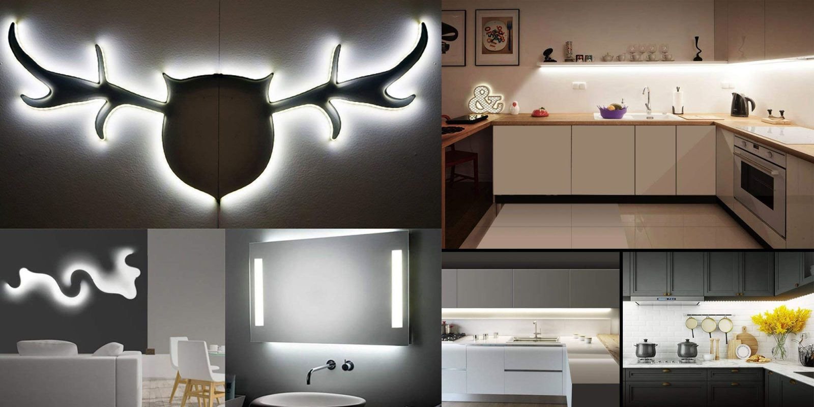 Add lighting anywhere in the house w this dimmable led light strip add lighting anywhere in the house w this dimmable led light strip for 9 prime shipped aloadofball Images