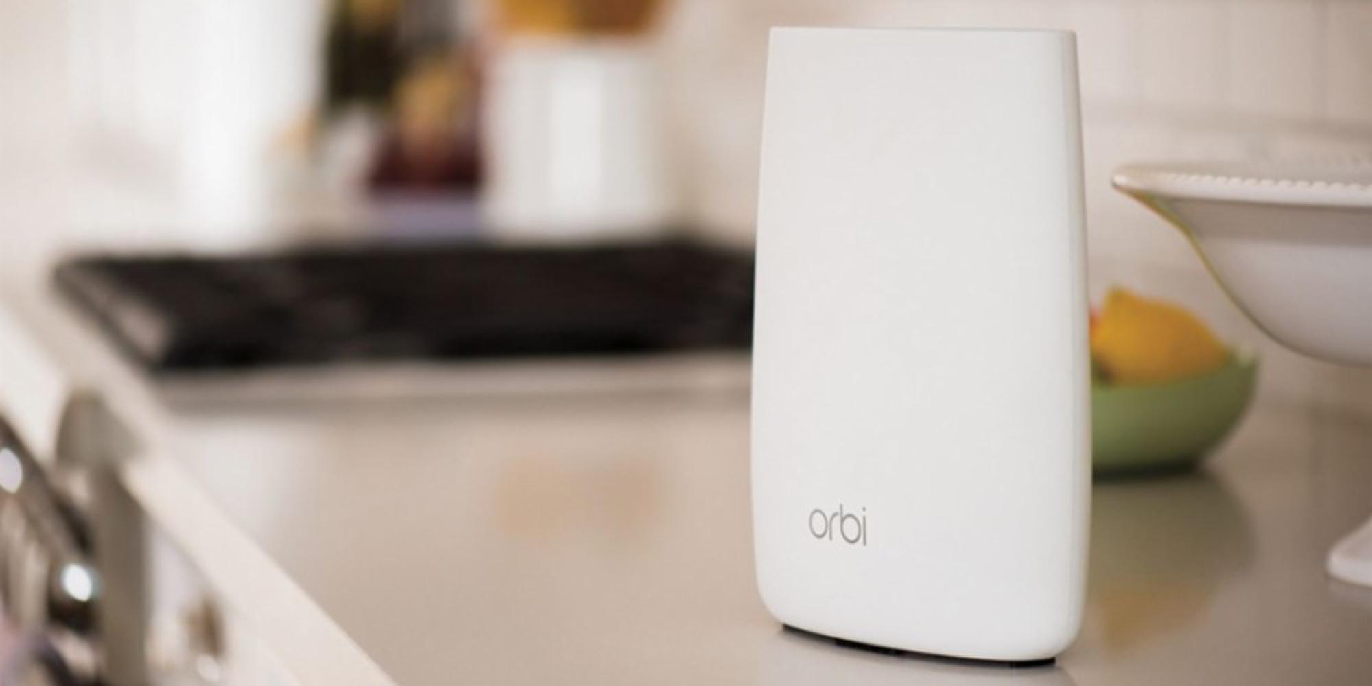 Mesh Wi-Fi awaits with NETGEAR's Orbi 802.11ac Tri-Band System at $260 shipped (Reg. $330)