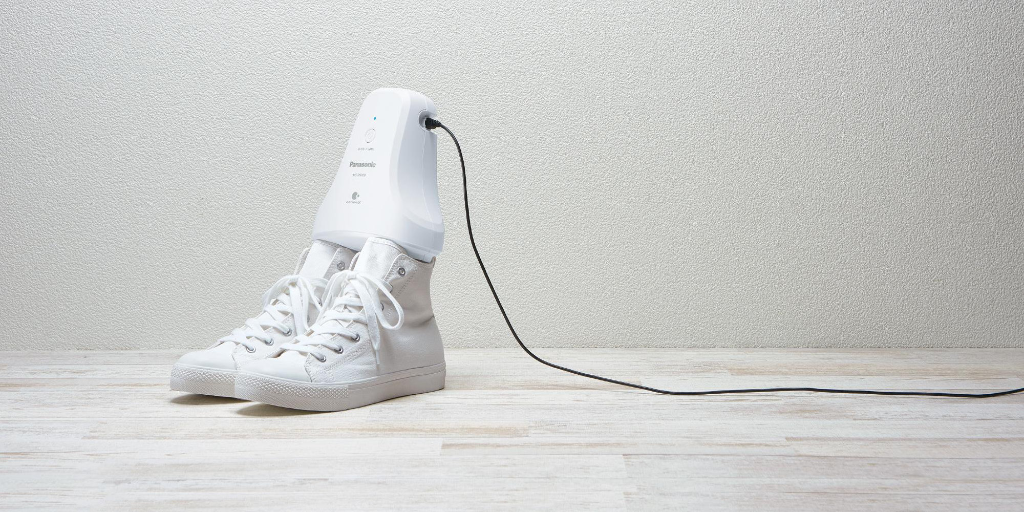 Panasonic's latest gadget makes your stinky shoes smell new… in five hours