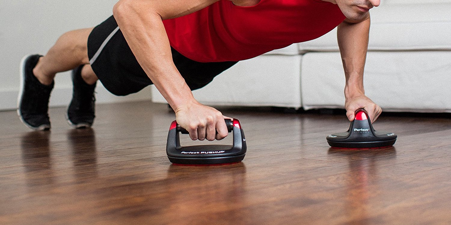 Grab the Perfect Pushup Elite at-home workout system for $21 (Reg. up to $30)