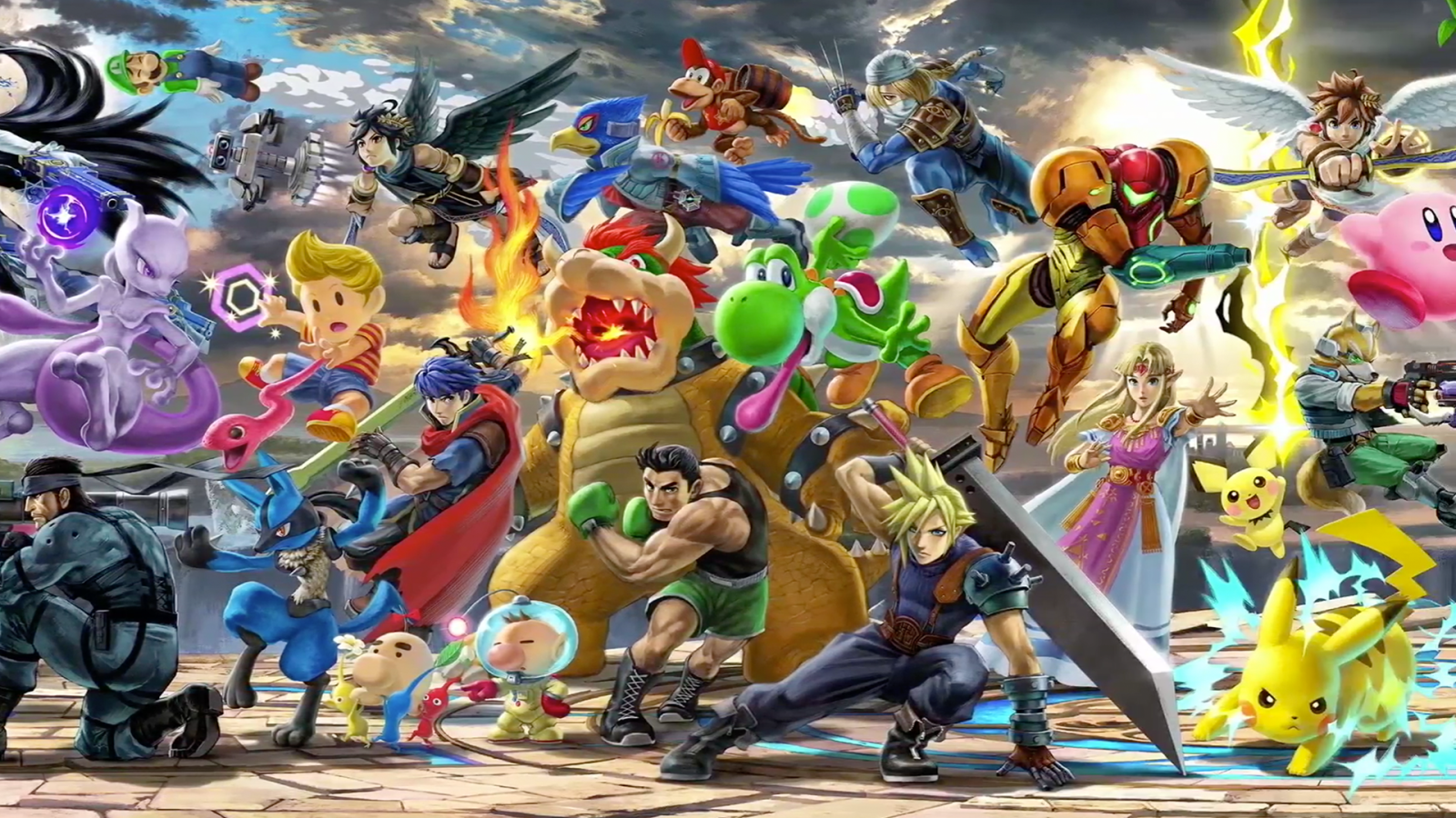Super Smash Bros Ultimate Nintendo Direct New Fighters Game