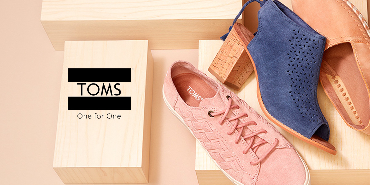 TOMS Surprise Sale takes up to 65% off