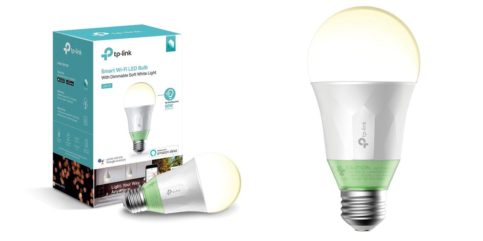 TP-Link smart bulbs do not require an additional hub, get