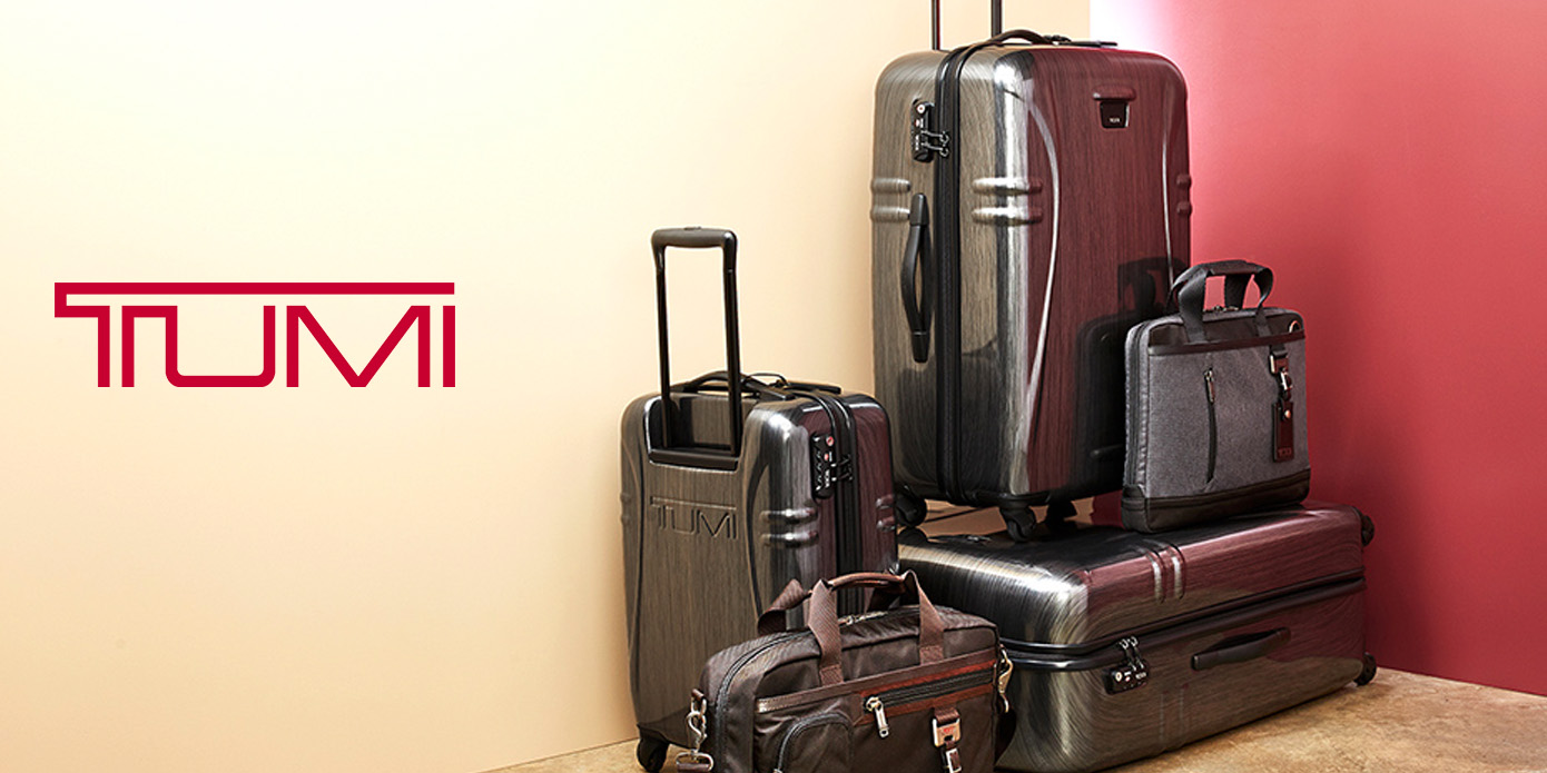 TUMI luggage, MacBook backpacks, briefcases, accessories & more from just $45 at Hautelook