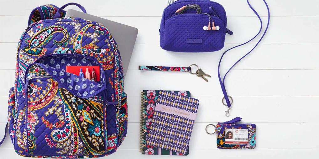 Vera Bradley lets you head back to school in style w/ 25% off backpacks, more