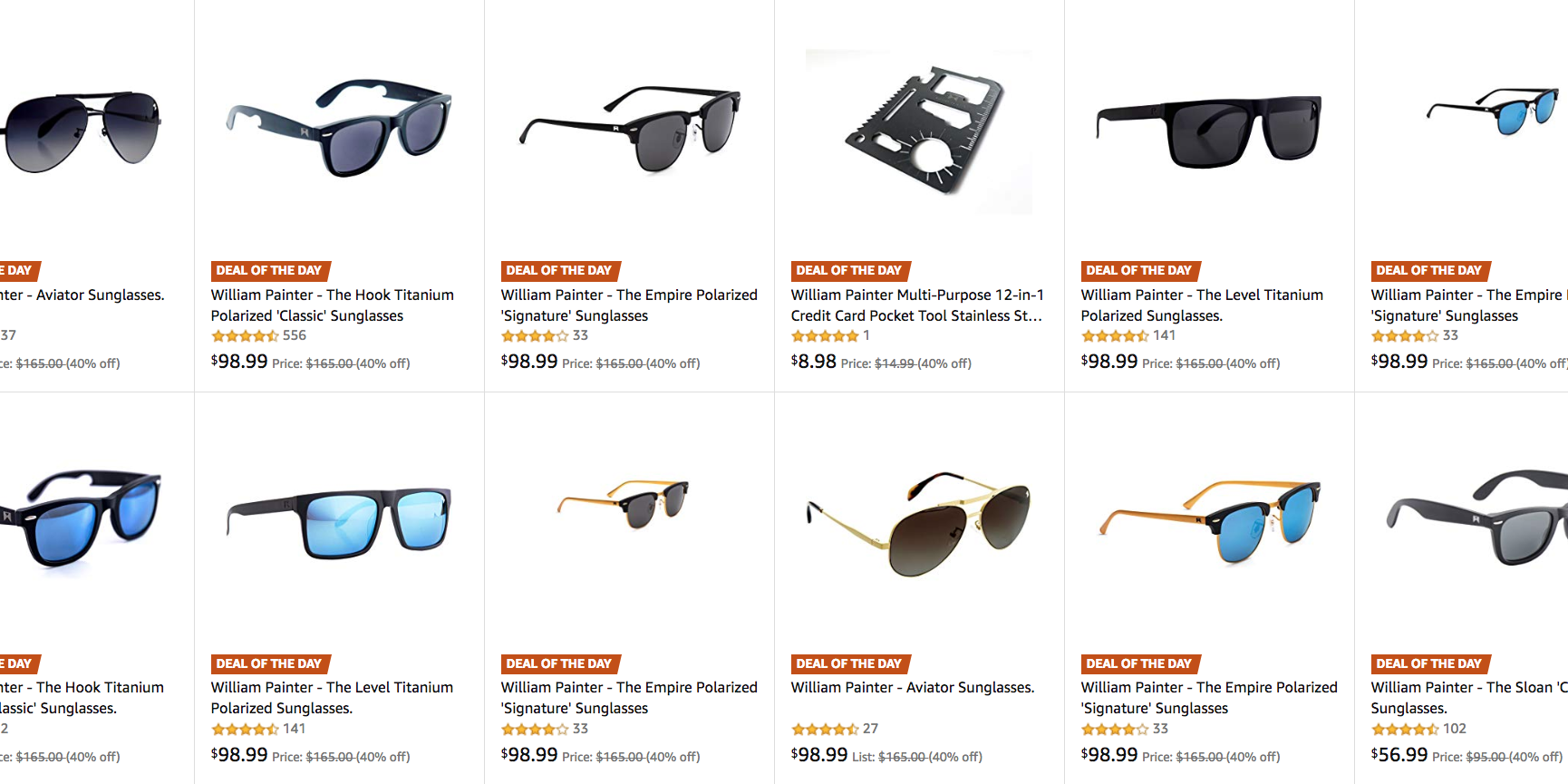 c285f17039a William Painter sunglasses   more from  57 in today s Amazon Gold Box -  9to5Toys