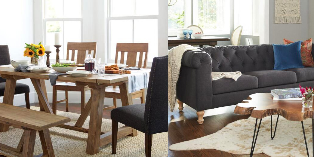 World Market Furniture Sale offers 30% off all dining tables