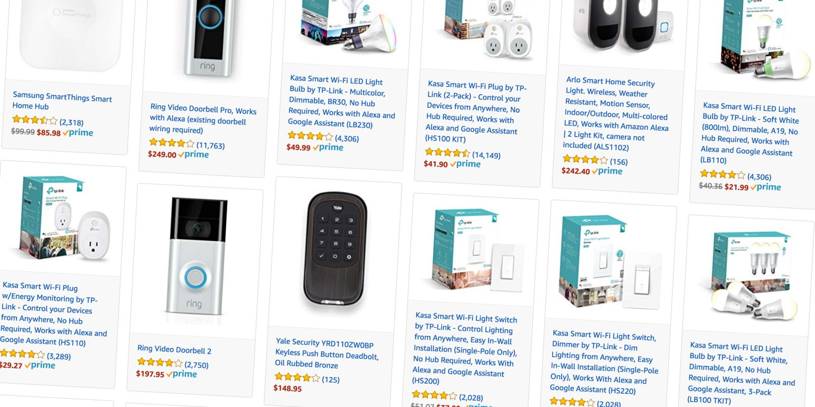 Amazon Takes 20 Off Popular Smart Home Accessories For