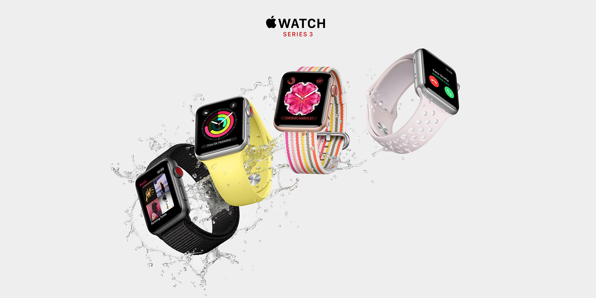 Fresh Apple Watch Series 3 LTE deals start at $259 via B&H (tax savings in select states)