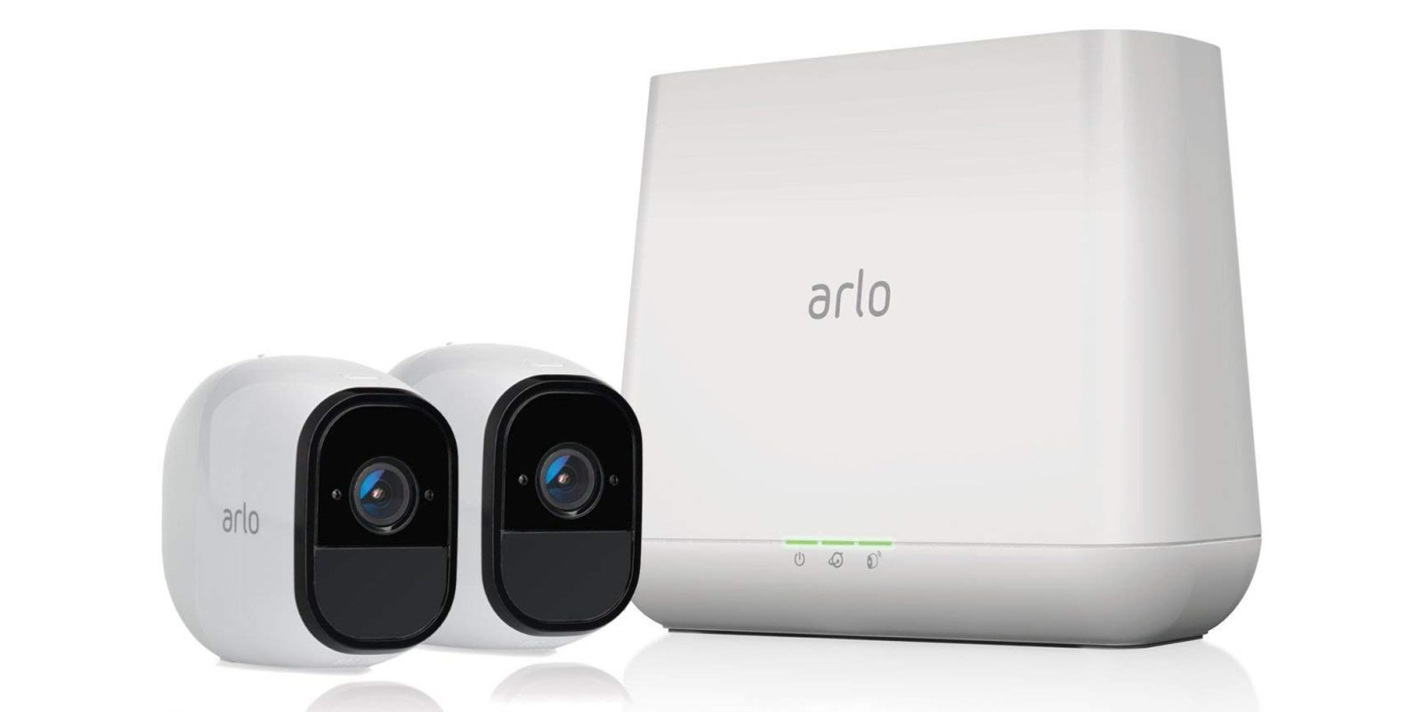 netgear 39 s arlo pro 2 camera security system falls to 250. Black Bedroom Furniture Sets. Home Design Ideas
