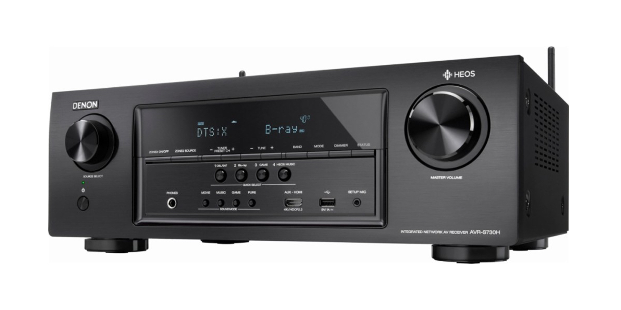 Recreate big-screen sound at home w/ Denon's AirPlay A/V Receiver $216 (40% off), more