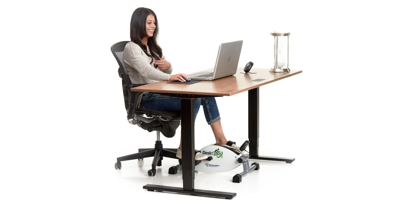 Add The Deskcycle 2 Under Desk Exercise Bike To Your Workstation For 119 Reg 150
