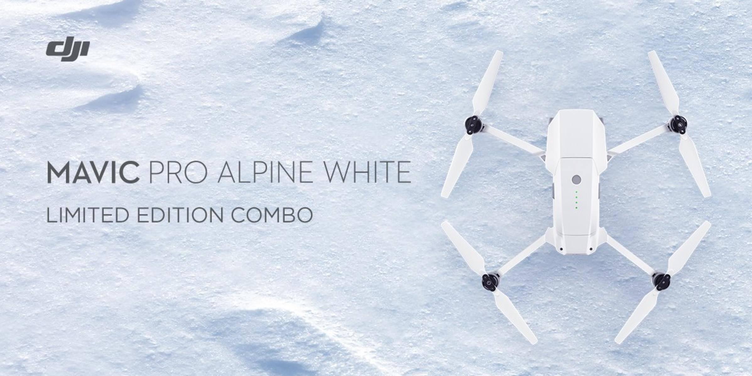 DJI Mavic Pro Alpine Edition includes $200 worth of accessories for $779 (Reg. $1,000)