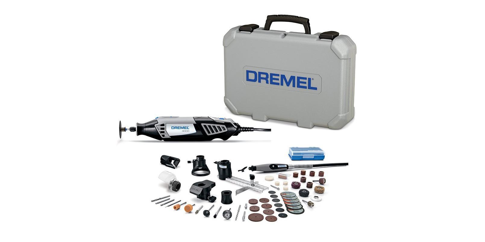 Dremel Tool Kit W 50 Accessories Travel Case Now 105