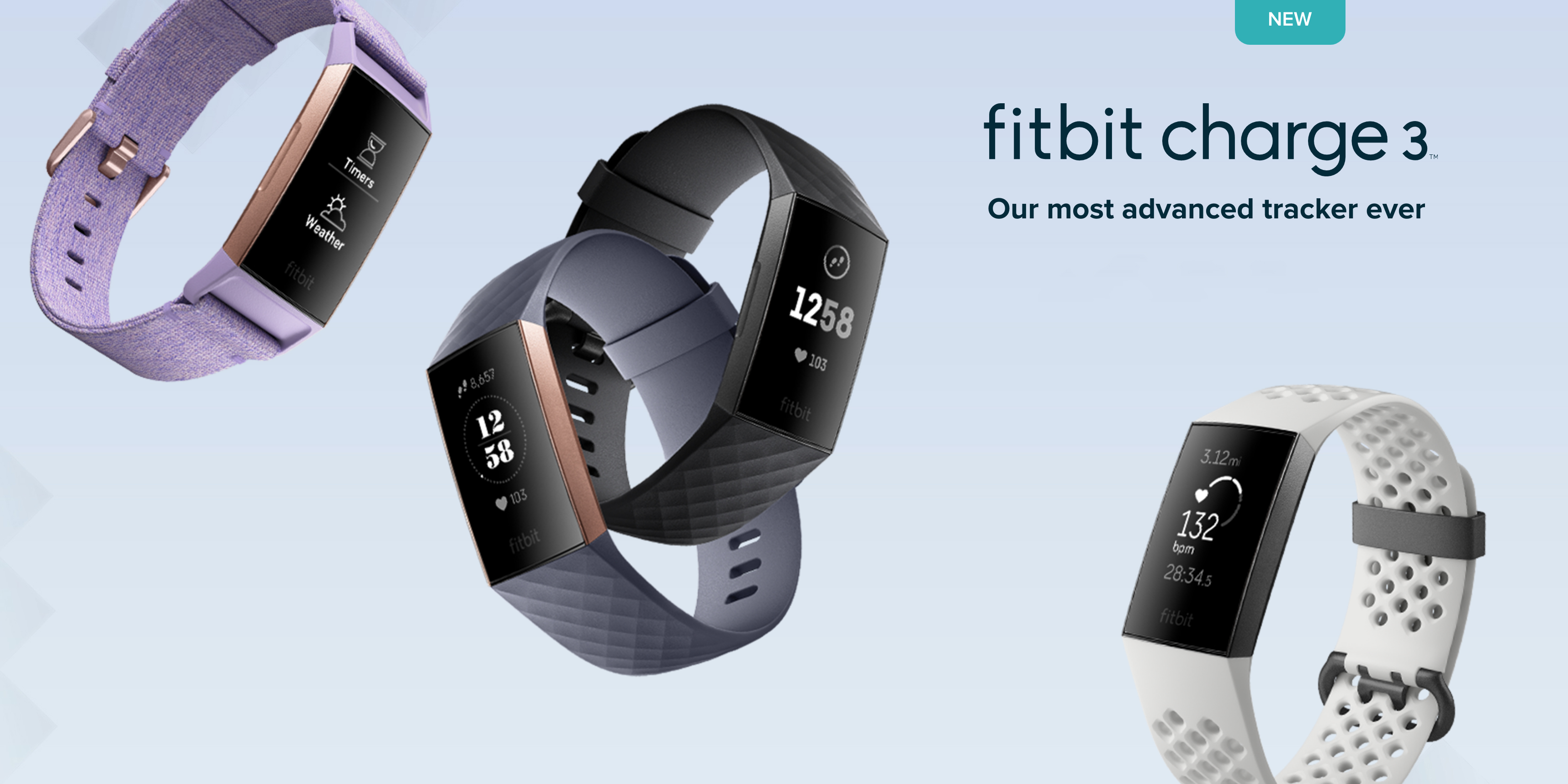 Fitbit unveils Charge 3 w/ new aluminum design, 7-day ...