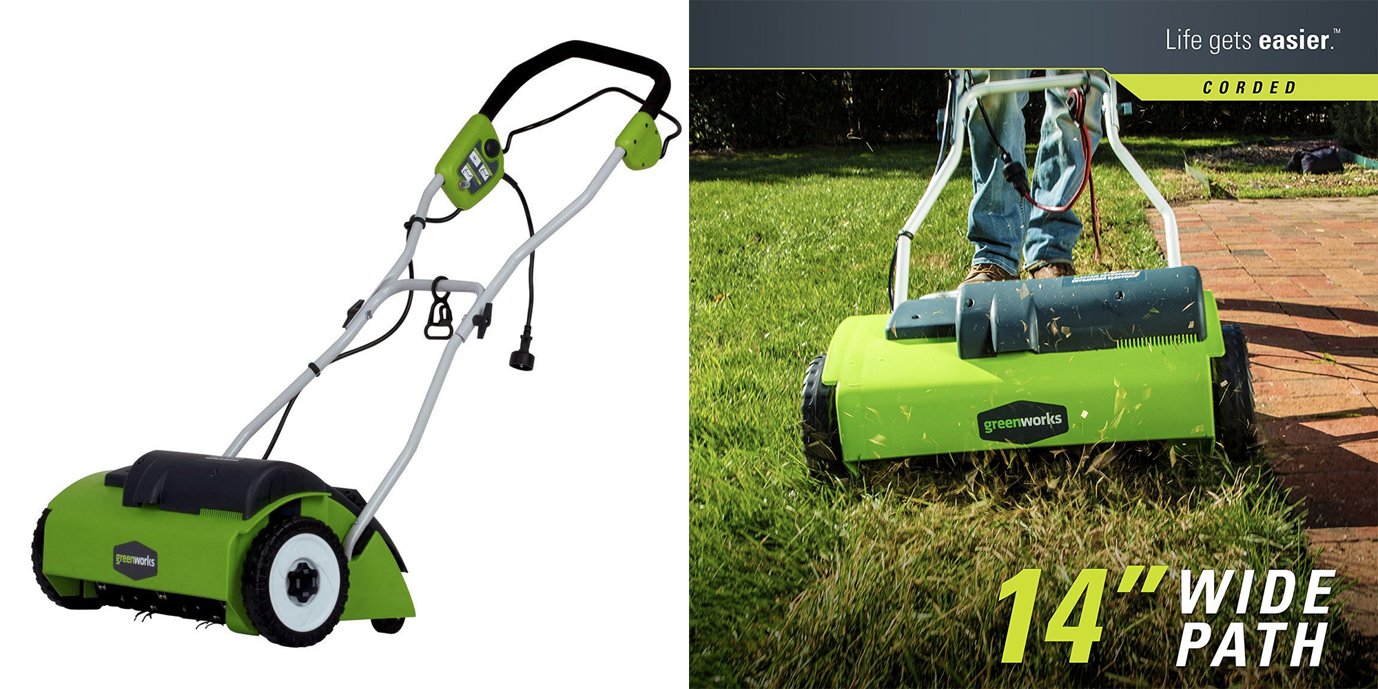 Green Deals Greenworks 14 Inch 10a Electric Dethatcher 85 More 9to5toys Buy it and save at globalindustrial.com. 9to5toys