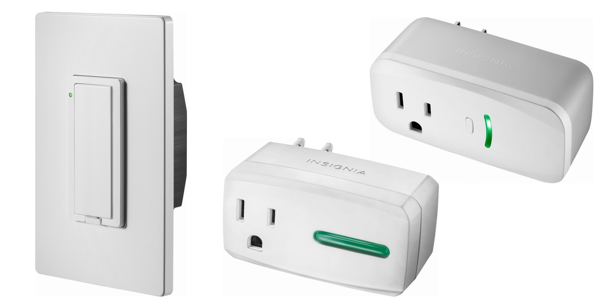 Save on the Insignia HomeKit-enabled light switch & smart plugs from $17 shipped