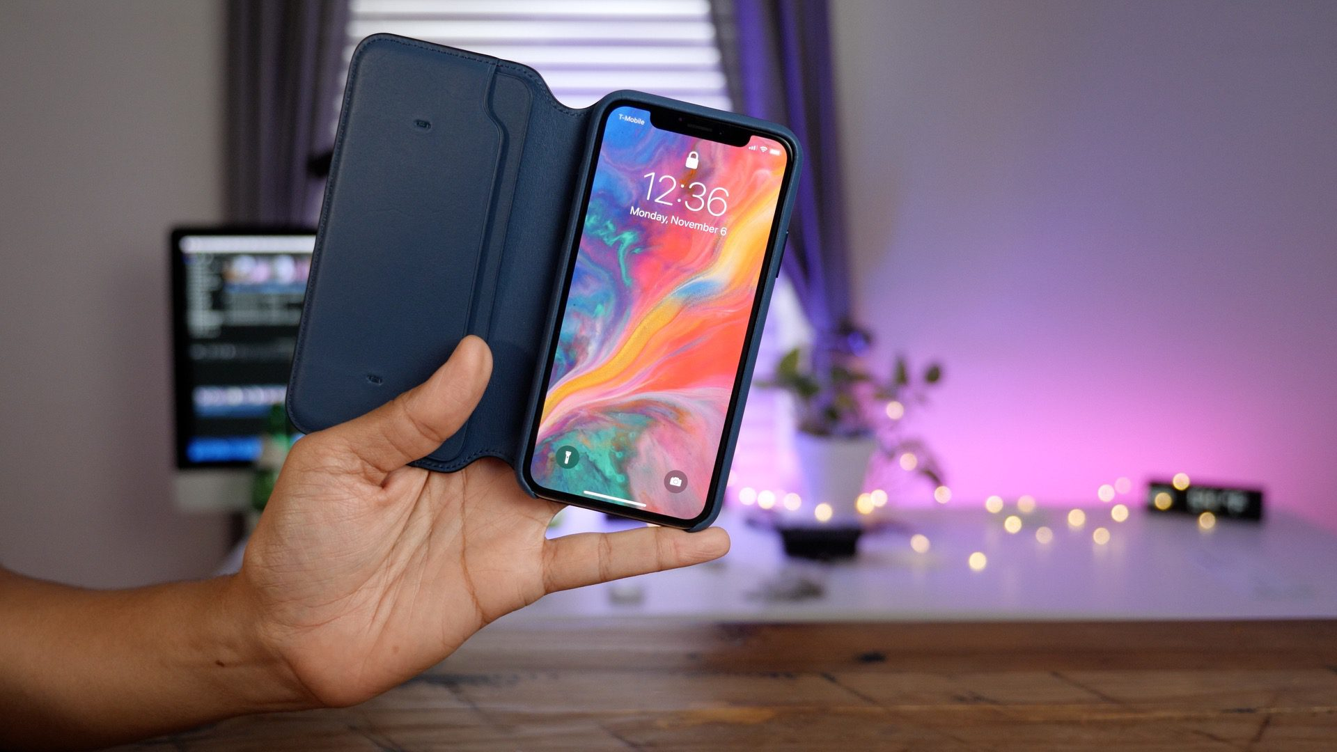 Put an official Apple leather folio case on your iPhone X from $44.50 via Amazon