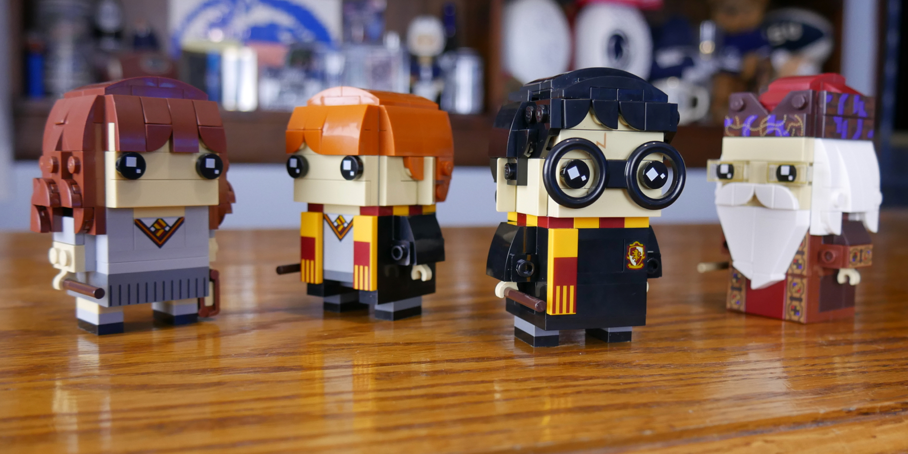Hands-on: LEGO's new Harry Potter BrickHeadz are the most magical brick-built figures yet