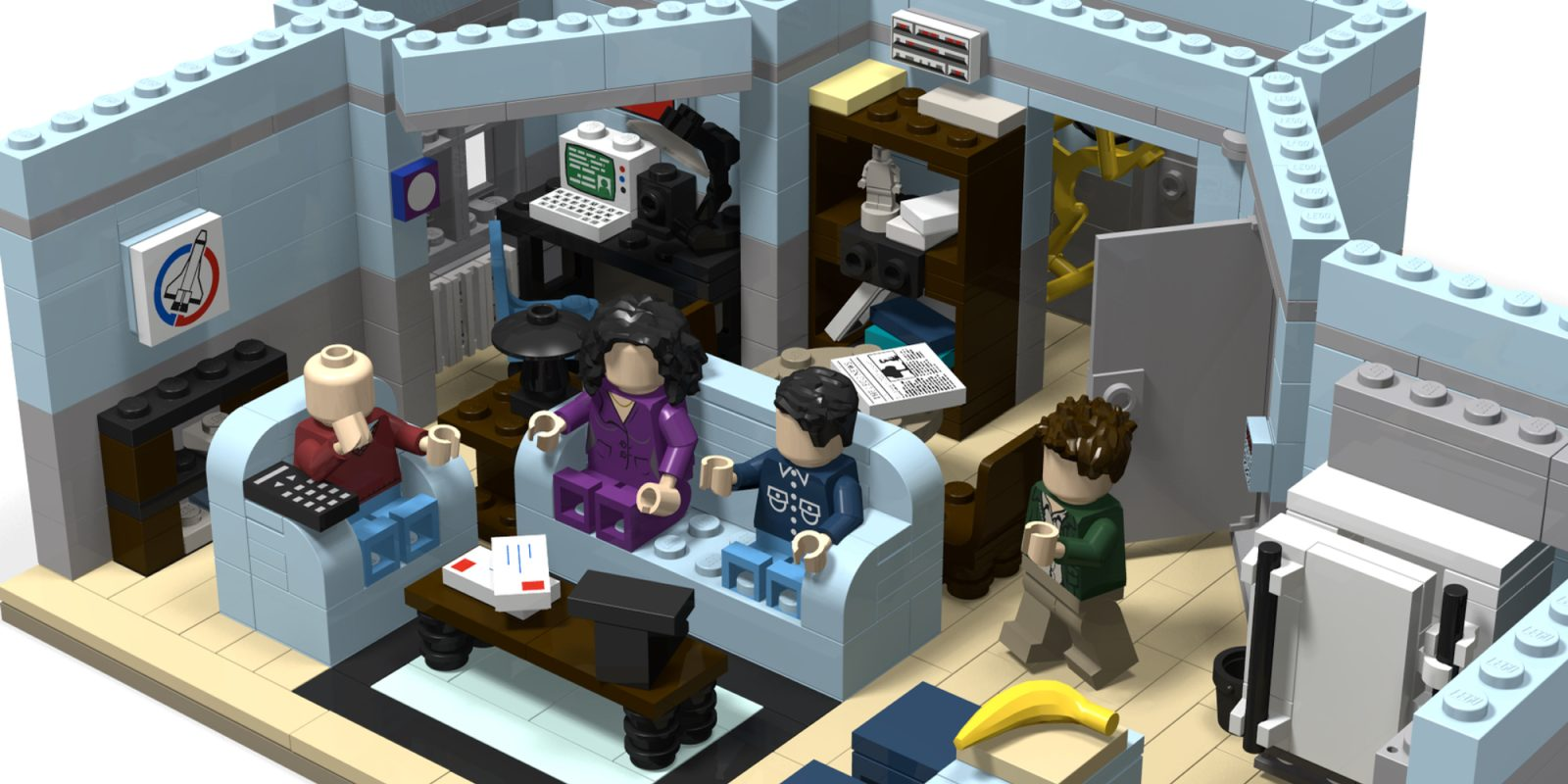 august 39 s awesome lego ideas kits assemble the seinfeld. Black Bedroom Furniture Sets. Home Design Ideas