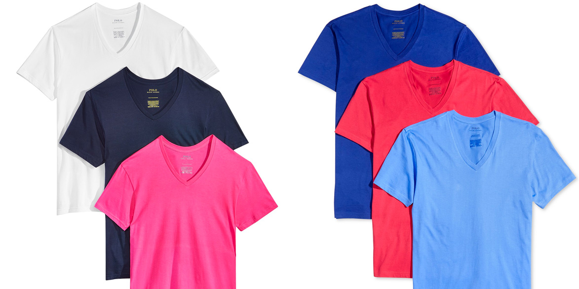 e99788e22709 Macy s 25% off Fall Preview Sale  3-Pack Ralph Lauren T-Shirts  18   much  more