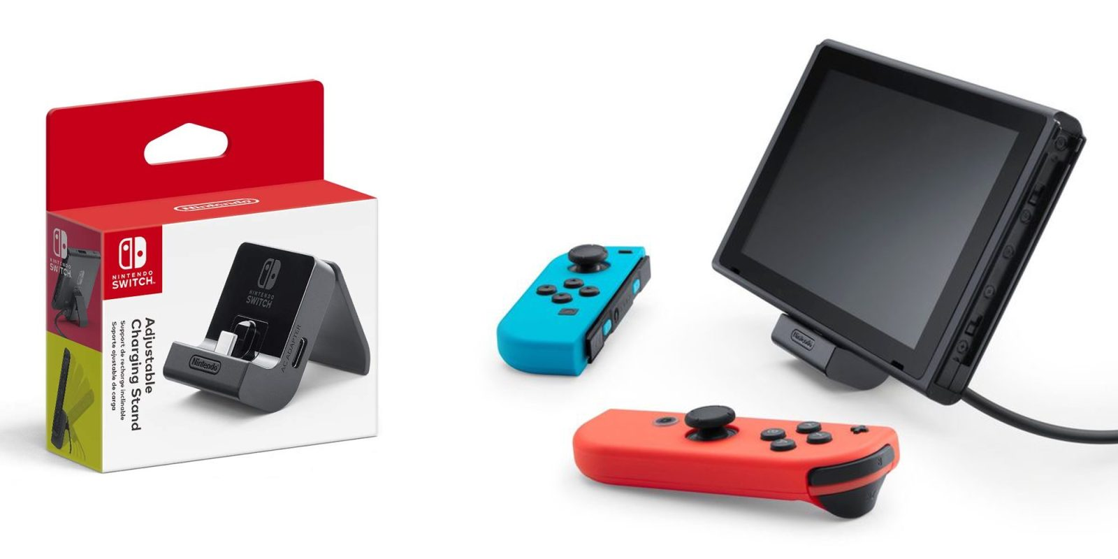 Nintendo's Switch Charging Stand falls to second-lowest all-time price at $17