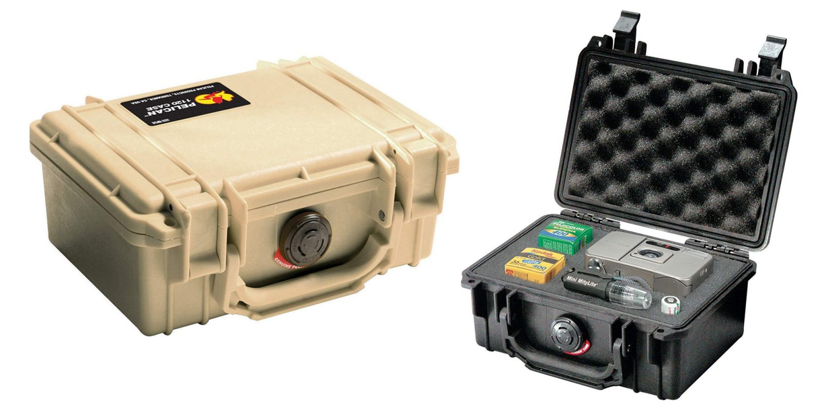 Pelican's Watertight Case keeps your gear protected for $24.50 (25% off)