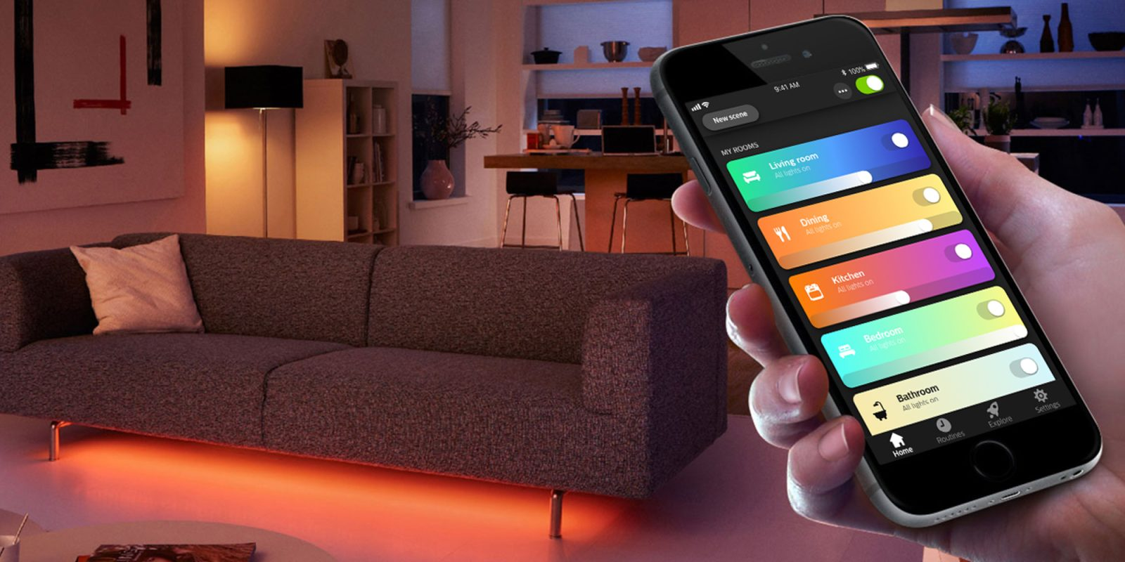 How to choose the best lighting for your smart home: Philips