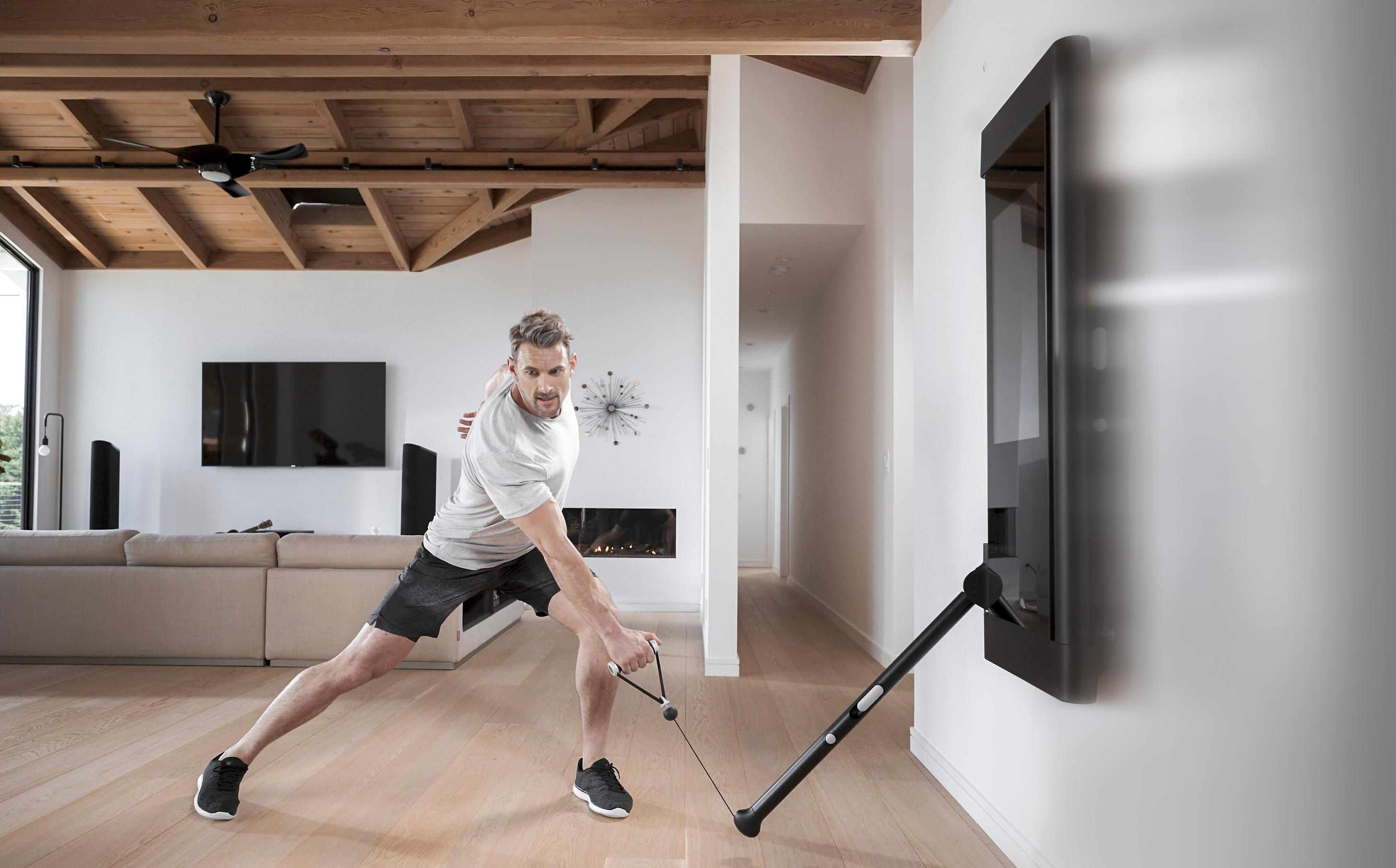 Tonal Home re-imagines the home gym with a massive display, sleek design