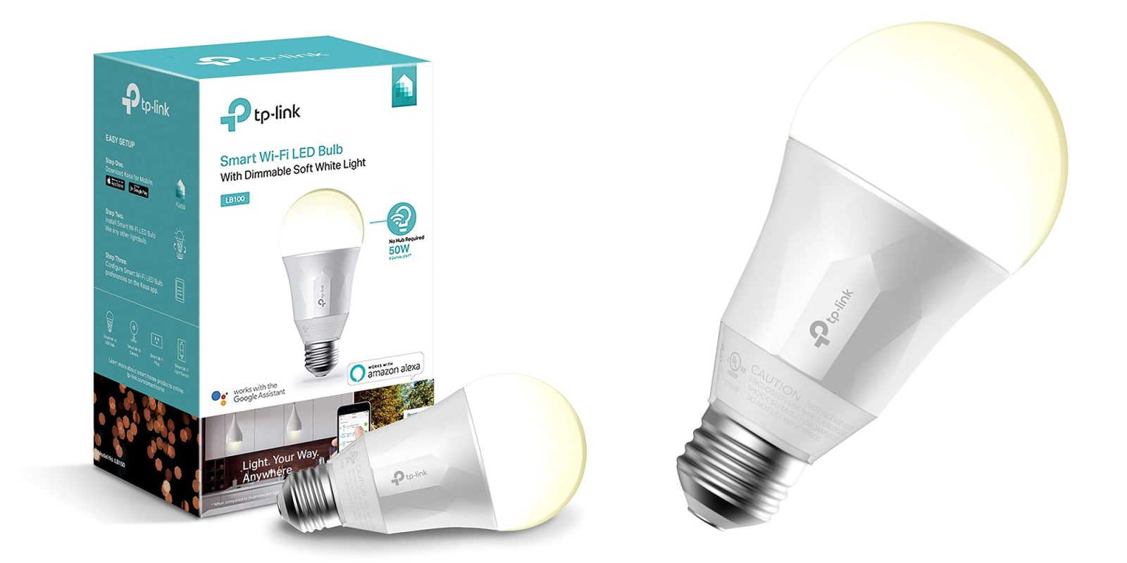 Add TP-Link's Dimmable LED Light Bulb to your smart home for