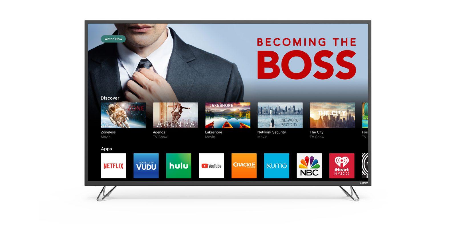 Upgrade to a new VIZIO Smart 4K UHDTV for football season from