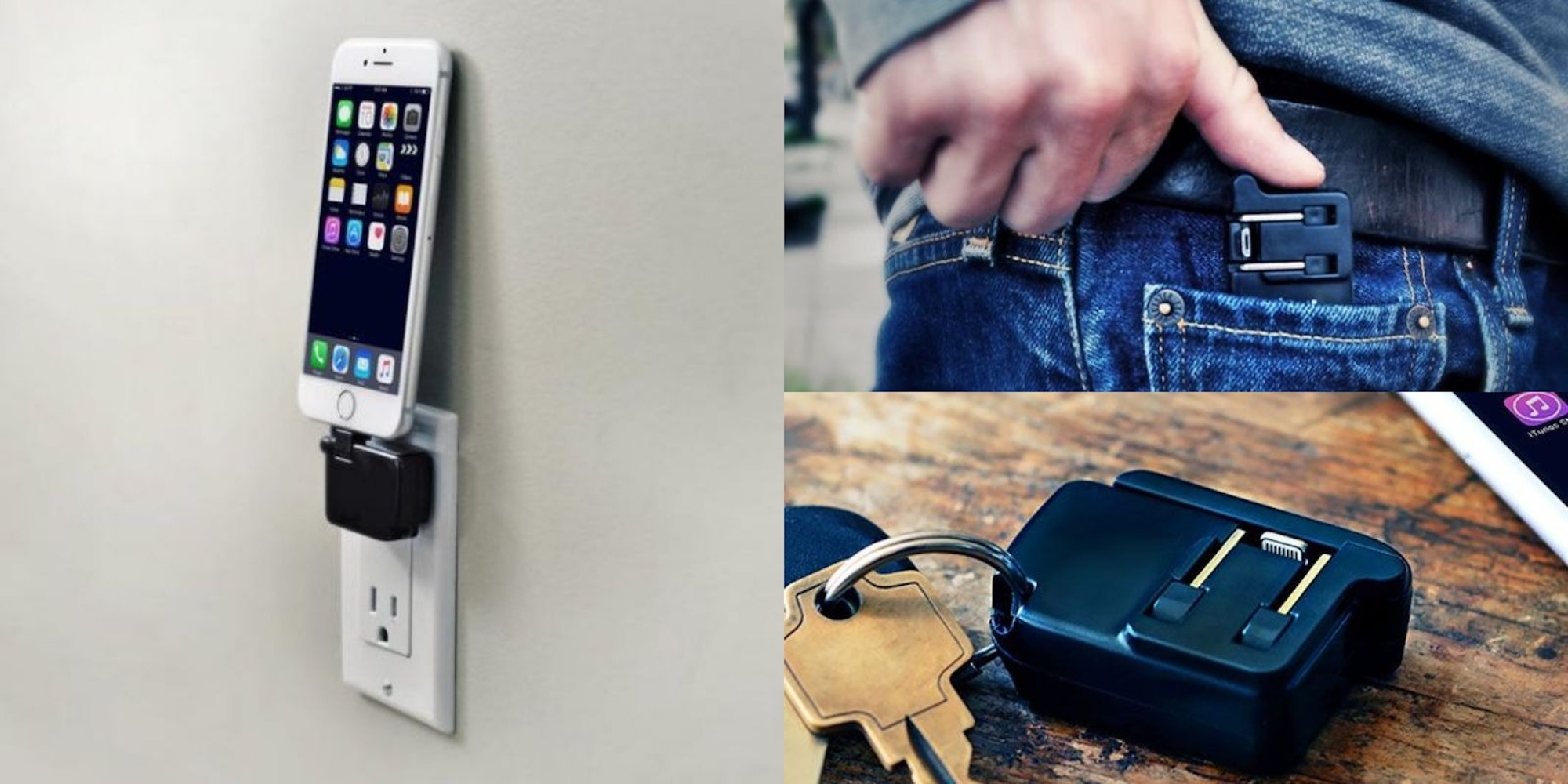 "Get the ""world's smallest smartphone charger"" now from $25"