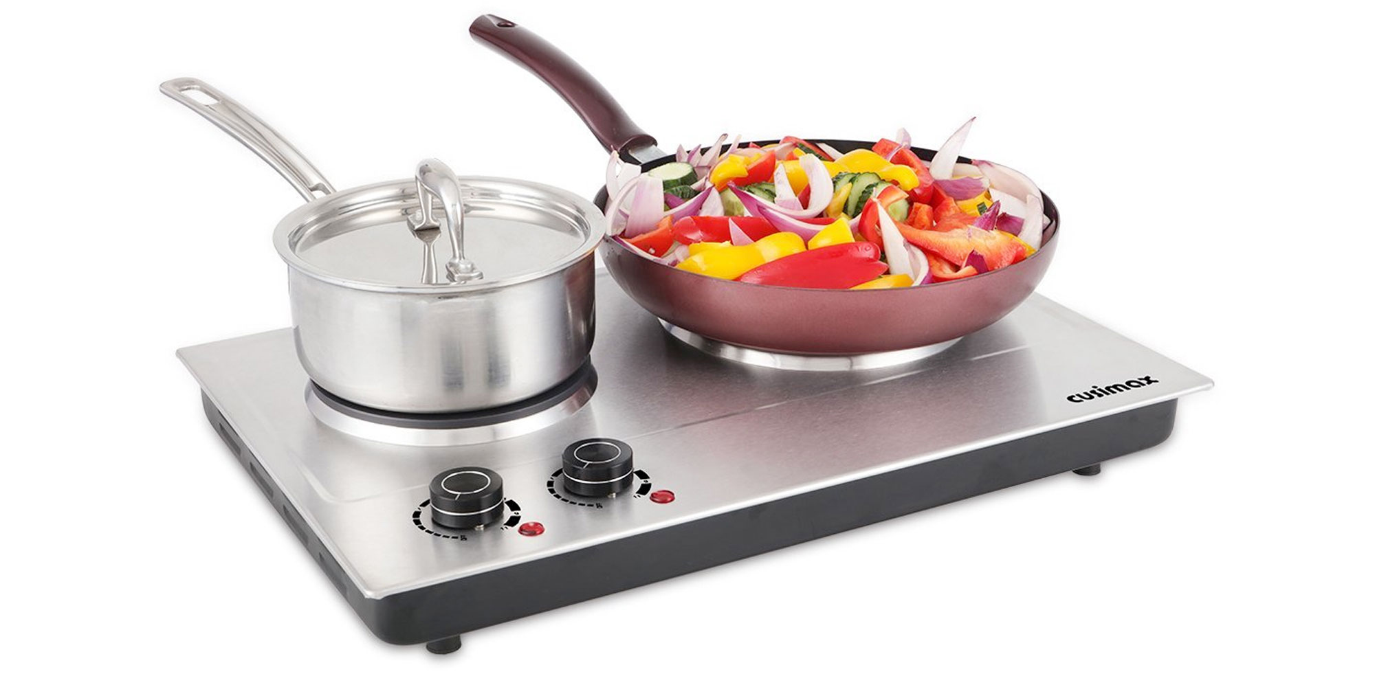 Heat water, cook eggs, more w/ this dual 1800W hot plate for $34 shipped at Amazon