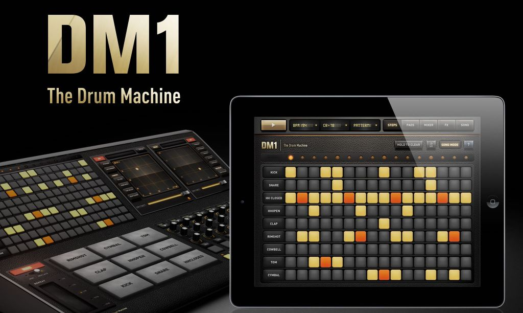 fingerlab s dm1 drum machine for iphone is free for first time from 2 on ipad mac 9to5toys. Black Bedroom Furniture Sets. Home Design Ideas