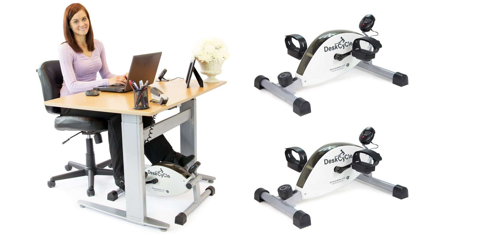 Deskcycle Under Desk Exercise Bike Now A Best Ever 119 Shipped Today Only Reg 159