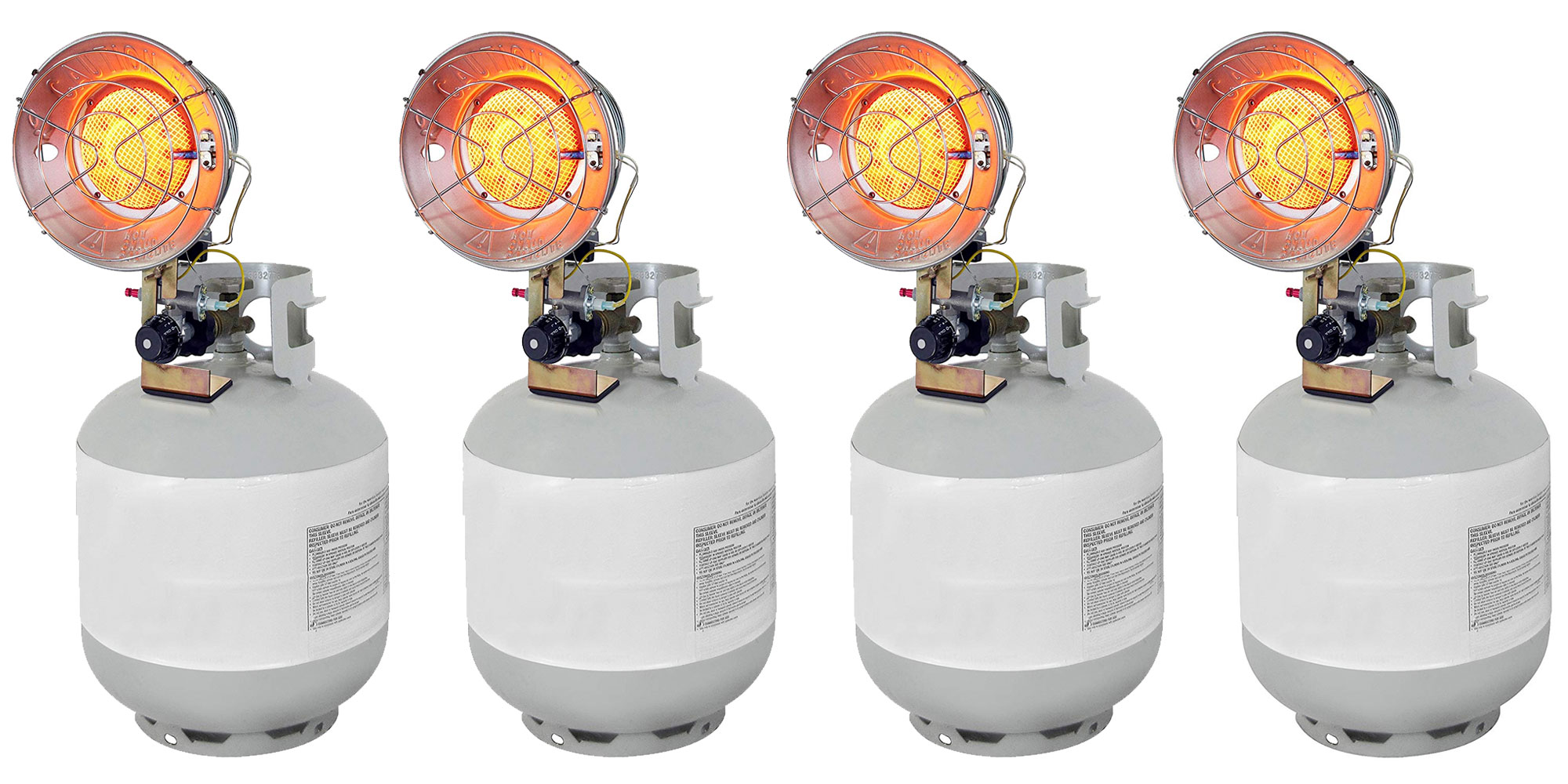 This Dyna-Glo Propane Tank Top Heater is 15,000BTU to keep you warm for $18.50