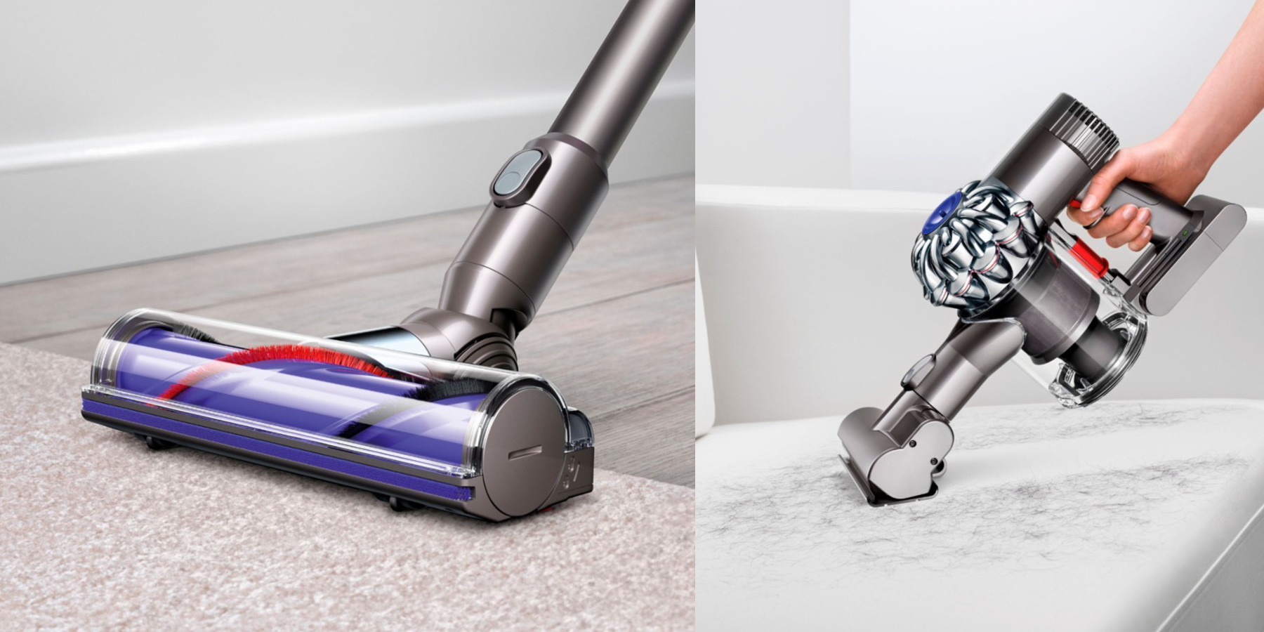 Image of: Cordless Handheld Dyson V6 Animal Cordless Stick Vac Drops To 200 For Today Only reg 280 9to5toys Dyson V6 Animal Cordless Stick Vac Drops To 200 For Today Only reg