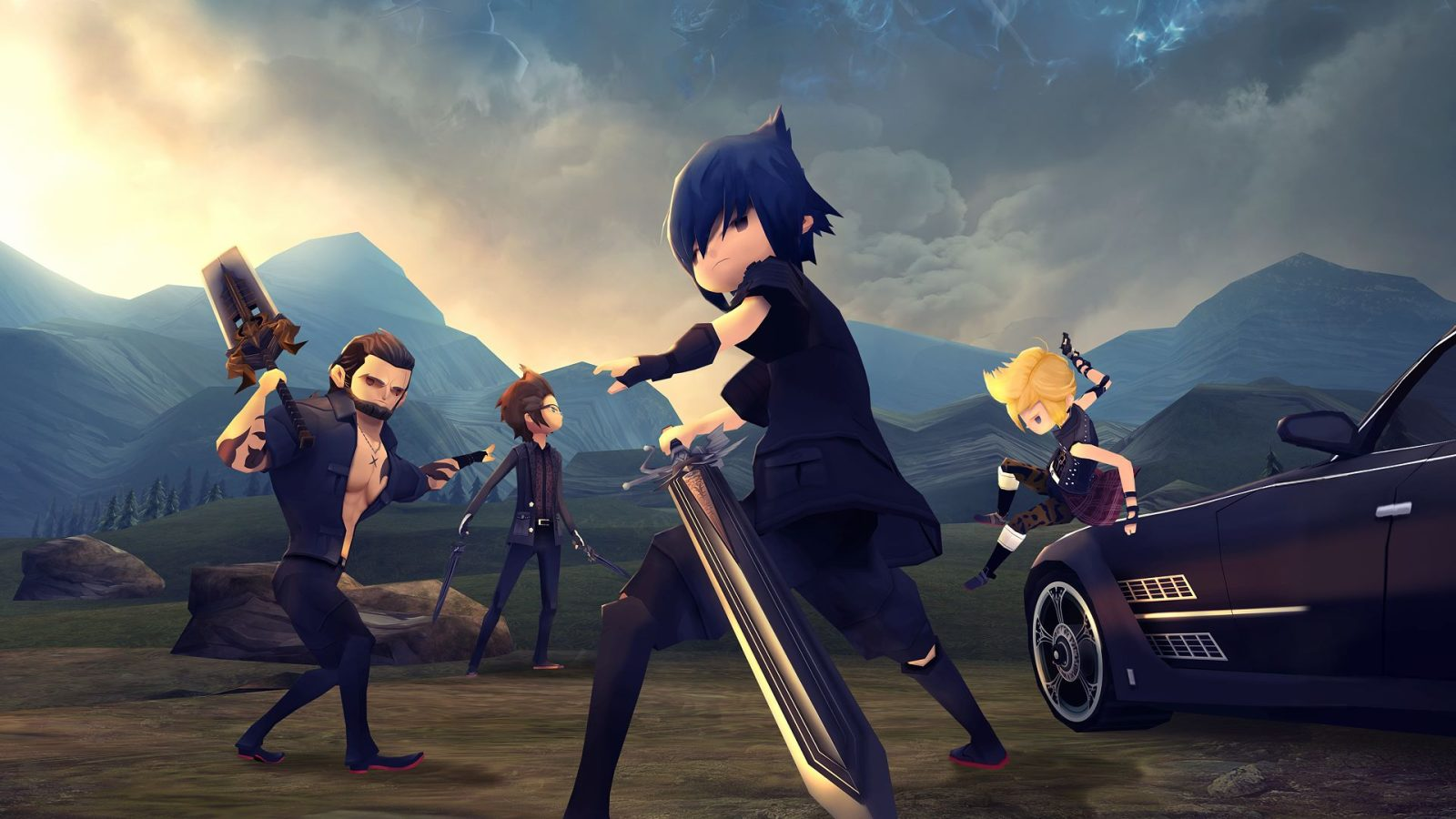 Image result for final fantasy xv pocket edition hd
