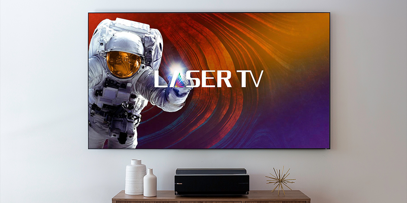 Hisense unveils two laser TVs that can beam 4K onto screens ranging from 88- to 120-inches