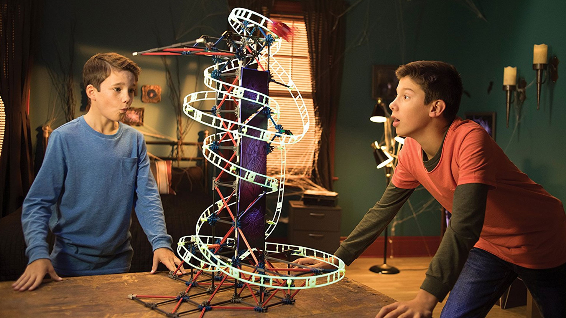 Build this roller coaster K'NEX set w/ your kids this fall: $35 (Reg. $50)