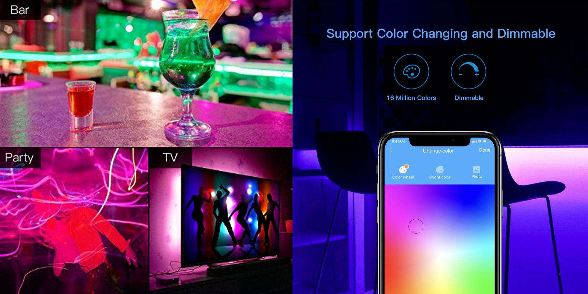 This Homekit Enabled Koogeek Rgb Led Strip Is A Must For Any Home Theater At 29 Reg 42
